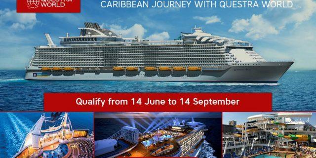Promosi Naik Kapal Pesiar Mewah berlayar ke Laut Karibia Bersama Questra World